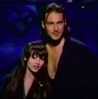 John Corbett and Shannen Doherty reward Van Halen for producing the most annoying video and commercial of the year.