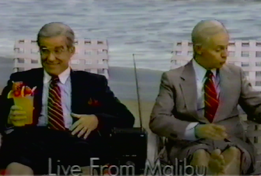 Dana Carvey and Phil Hartman portray Johnny Carson and Ed McMahon. Do people even know who they are anymore?