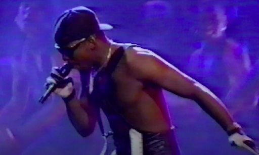 Bobby Brown, before he finished completely ruining Whitney Houston's life.