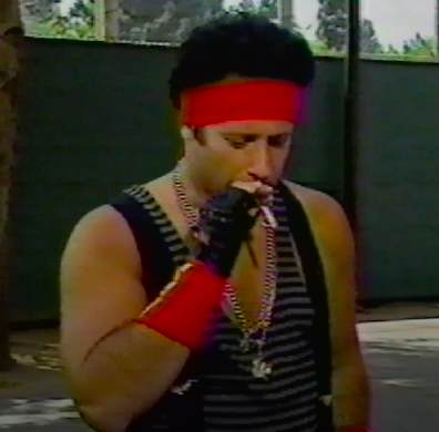 Andrew Dice Clay, another annoying character from the 90s.