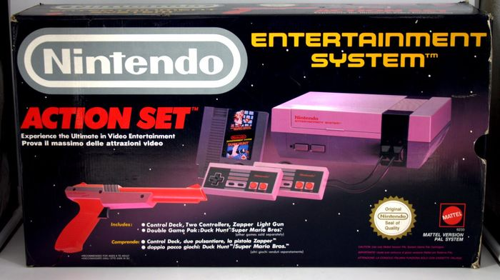 Nintendo Entertainment System Action Set